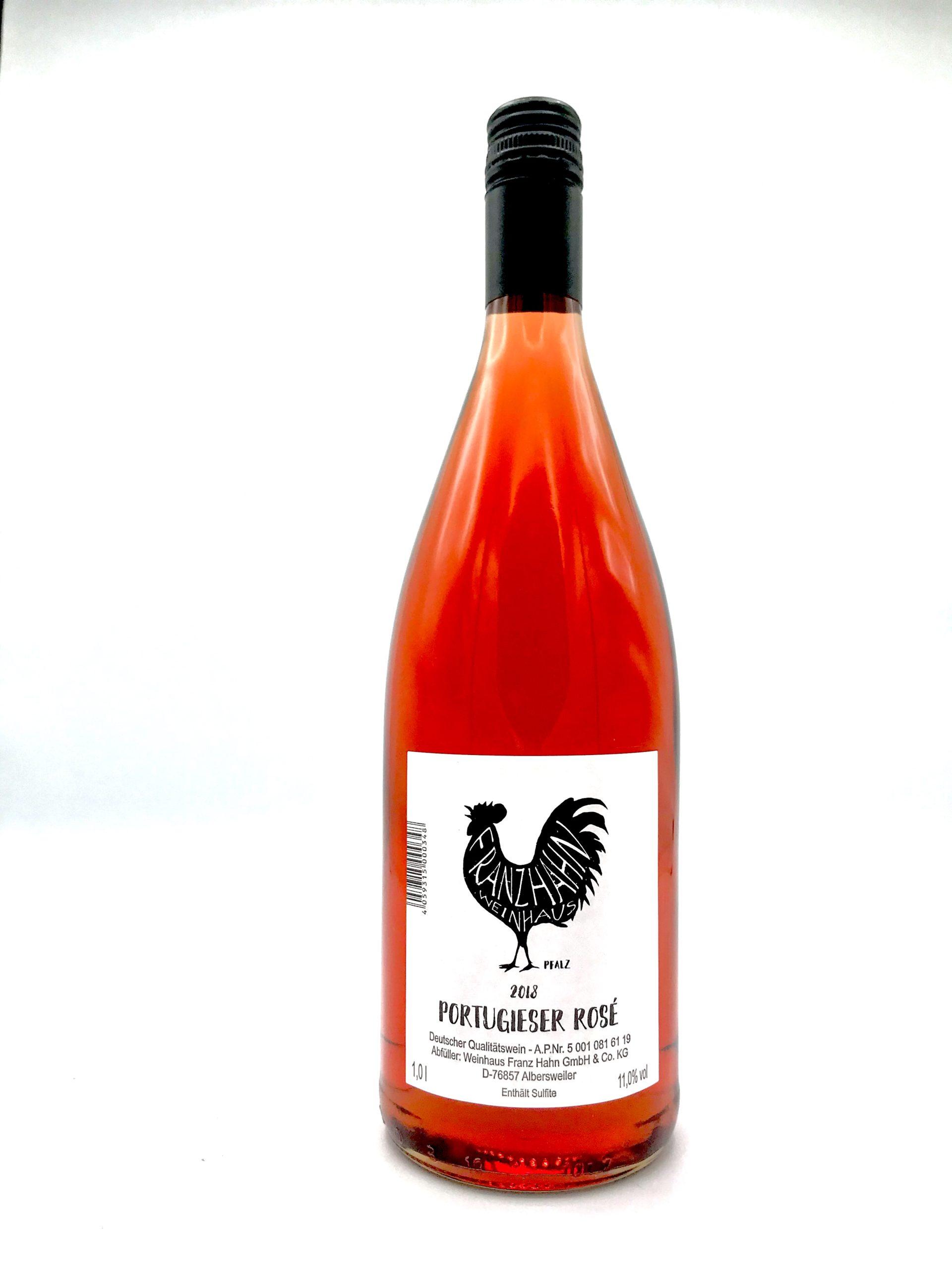 Portugieser Rosé Flaschenfoto