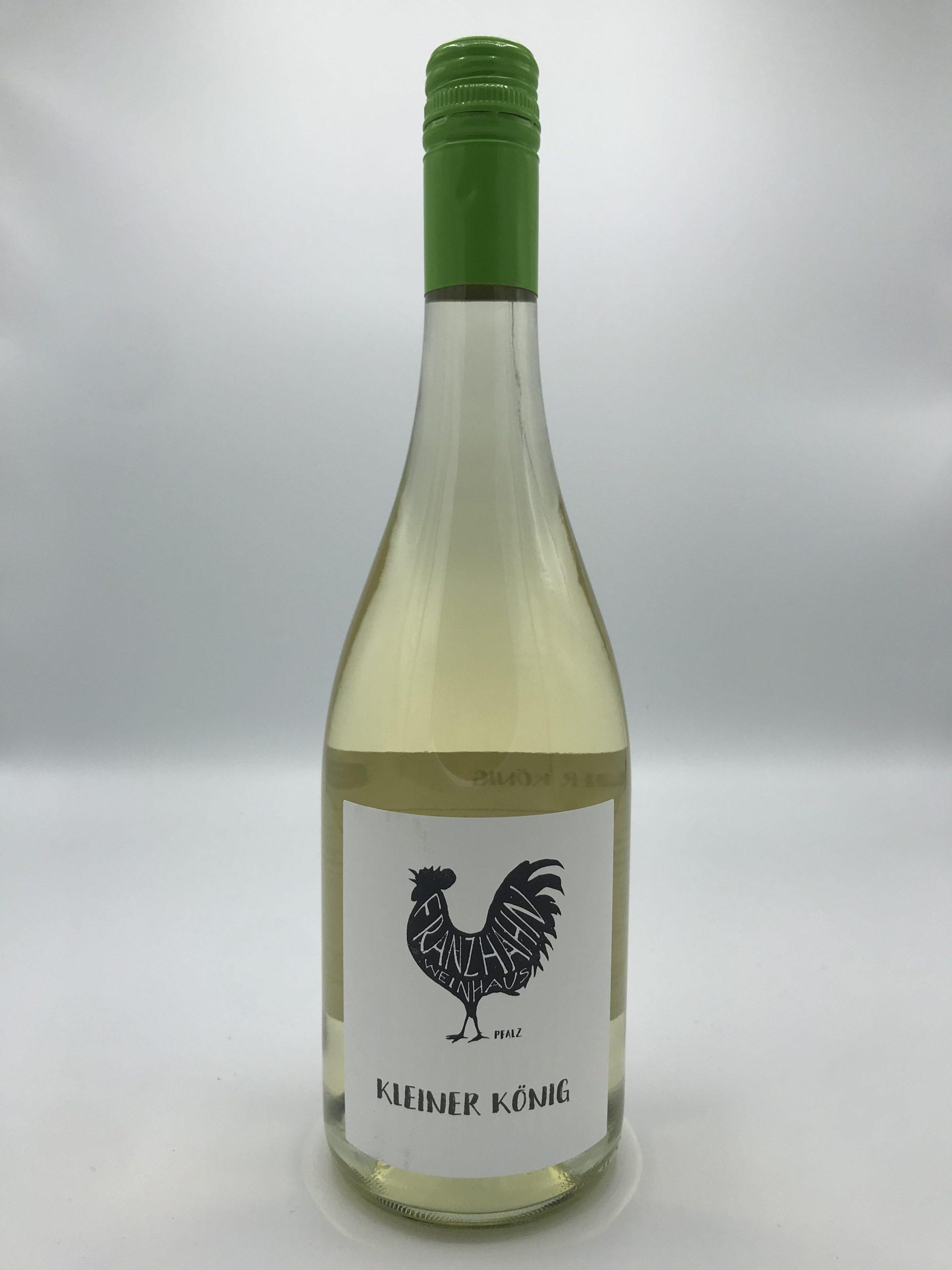 Kleiner König – alkoholfreier Apfelsecco Flaschenfoto