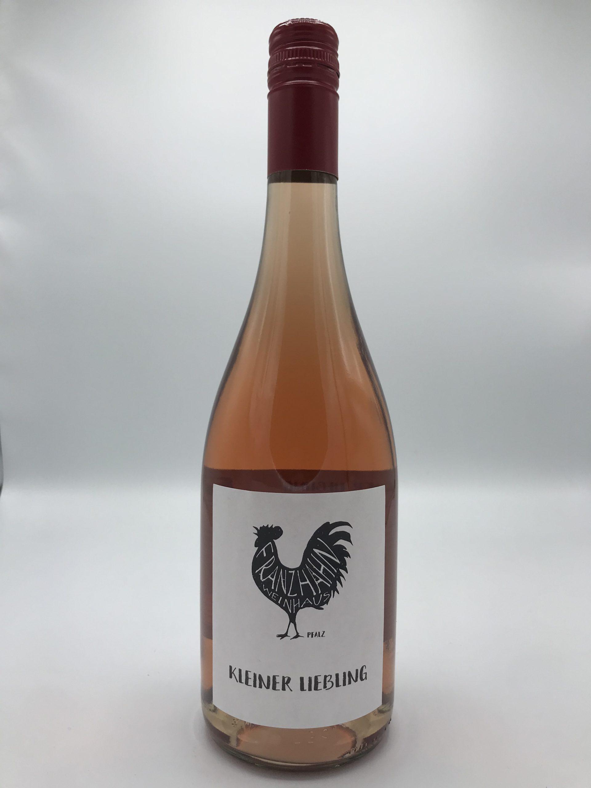 Kleiner Liebling – alkoholfreier Erdbeersecco Flaschenfoto